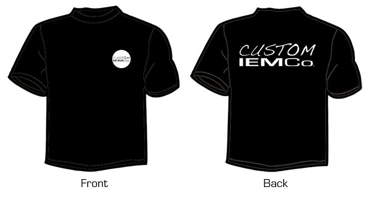 The custom iem company t shirts for Custom t shirt company